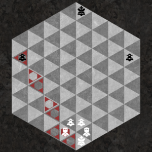 Duke captures along three triangular axes