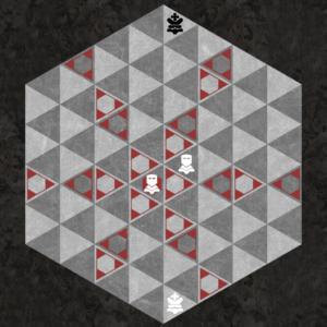 Duke moves along three triangular axes