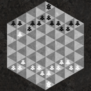 Pawn can capture one space forward like a Bishop, behind fleeing Pawn's opening movement.